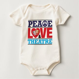 Peace, Love and Theatre Shirt shirt