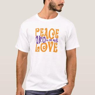 Peace, Love and Ukulele T-Shirt