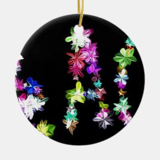 Peace Love and Unity Ceramic Ornament