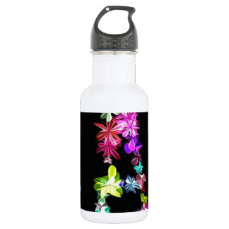 Peace Love and Unity Stainless Steel Water Bottle