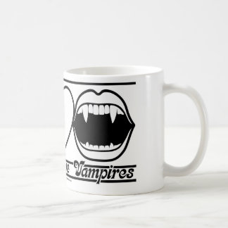 Peace Love and Vampires Coffee Mug