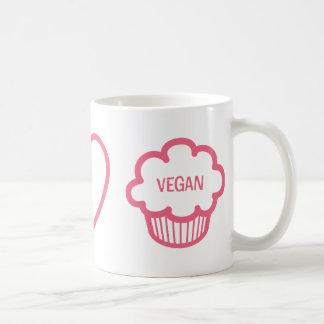 Peace, Love and Vegan Cupcakes Coffee Mug