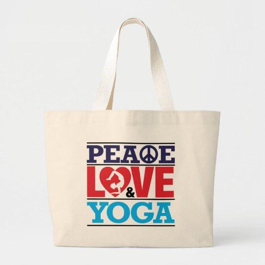 Peace, Love and Yoga Bag