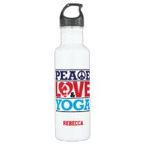 Peace, Love and Yoga Liberty Bottle