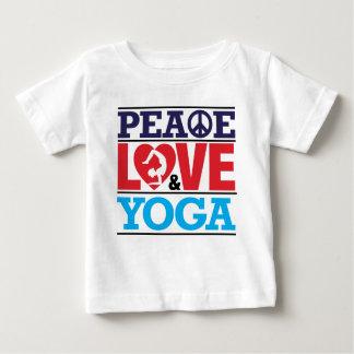 Peace, Love and Yoga Tshirt