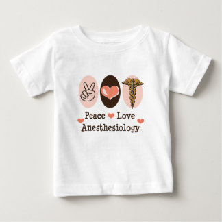 Peace Love Anesthesiology Baby T-shirt