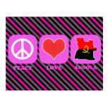 Peace Love Angola Post Card