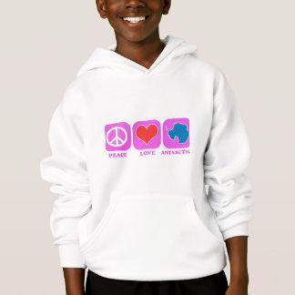 Peace Love Antarctica Hoodie