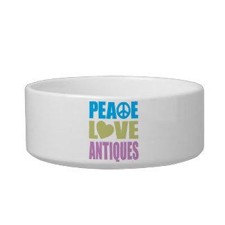 Peace Love Antiques Bowl
