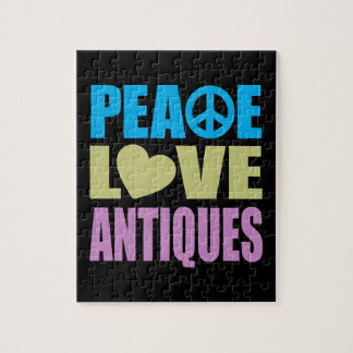 Peace Love Antiques Jigsaw Puzzle