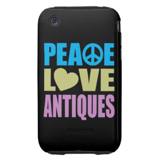 Peace Love Antiques Tough iPhone 3 Cover