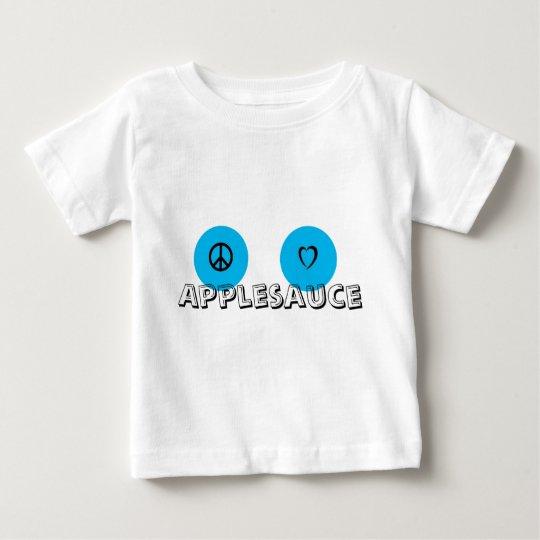 Peace Love APPLESAUCE Baby T-Shirt