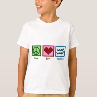 Peace Love Aquarius T-Shirt