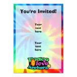 Peace, Love, Archery 5x7 Paper Invitation Card