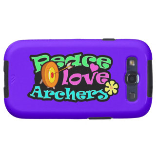 Peace Love Archery Galaxy S3 Case