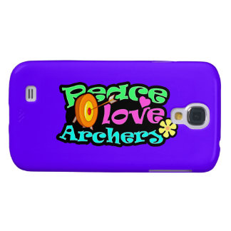 Peace Love Archery HTC Vivid Cases