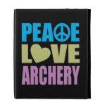 Peace Love Archery iPad Folio Case