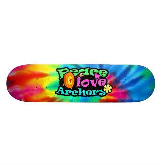 Peace, Love, Archery Skate Decks