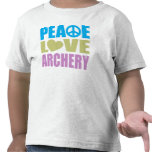 Peace Love Archery Tee Shirts