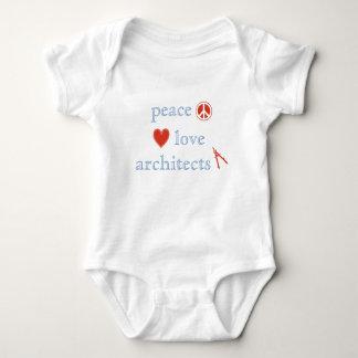 Peace Love Architects Baby Bodysuit