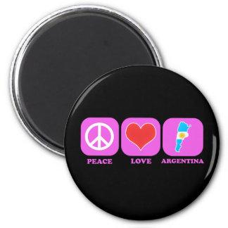 Peace Love Argentina Fridge Magnets