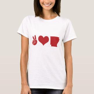 Peace, Love, Arkansas T-Shirt