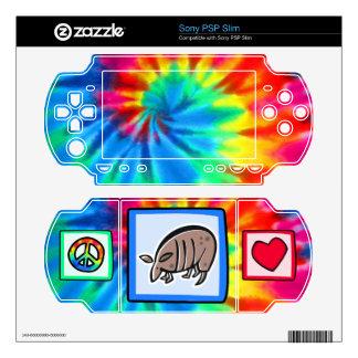 Peace, Love, Armadillos Sony PSP Slim Decal
