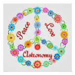 Peace Love Astronomy Posters