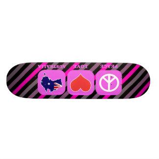 Peace Love Australia Skate Decks