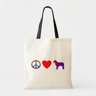 Peace Love Australian Shepherds Bag