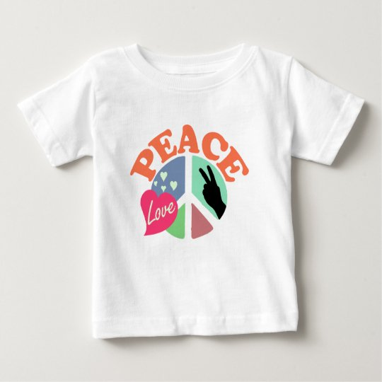 Peace Love Baby T-Shirt