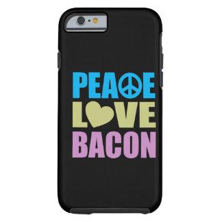 Peace Love Bacon Tough iPhone 6 Case