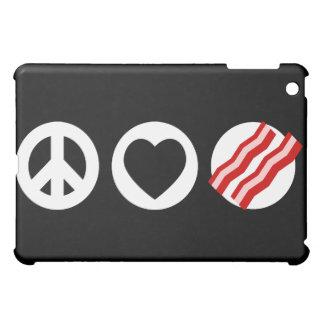 Peace Love Bacon Case For The iPad Mini