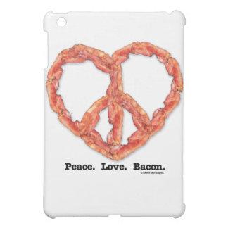 Peace. Love. Bacon. Cover For The iPad Mini