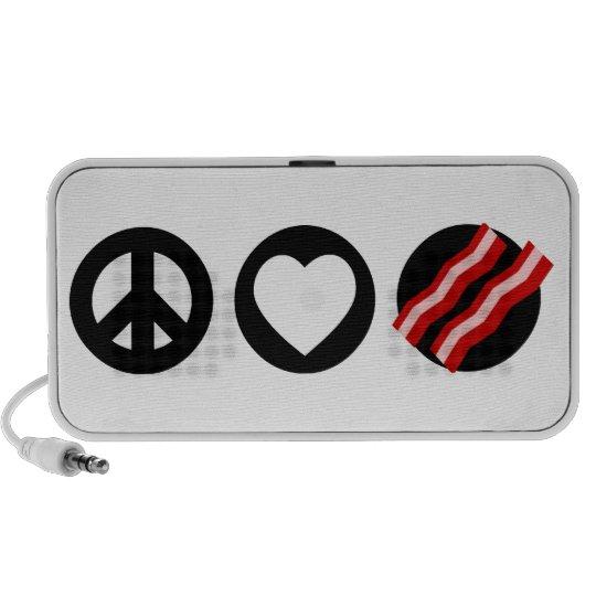 Peace Love Bacon Speaker