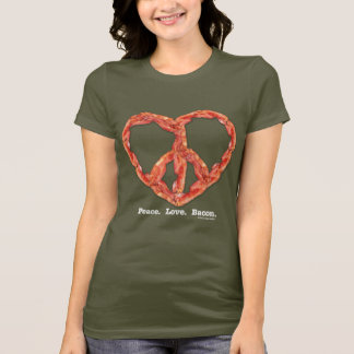Peace. Love. Bacon. T-Shirt