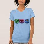 Peace Love Bacon T Shirts
