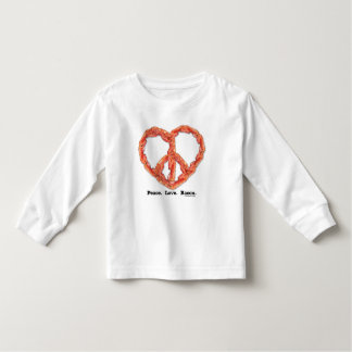 Peace. Love. Bacon. Toddler T-shirt