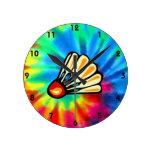 Peace, Love, Badminton Clocks