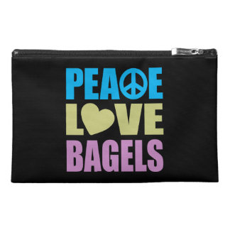 Peace Love Bagels Travel Accessory Bags