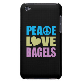 Peace Love Bagels Barely There iPod Case
