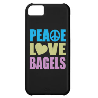 Peace Love Bagels iPhone 5C Cover