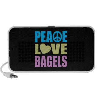 Peace Love Bagels Speaker System