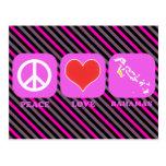 Peace Love Bahamas Post Cards