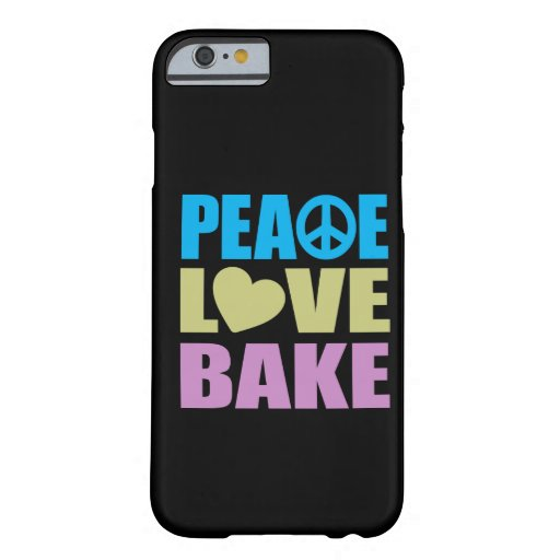 Peace Love Bake iPhone 6 Case