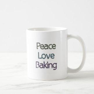 Peace, Love, Baking Mugs