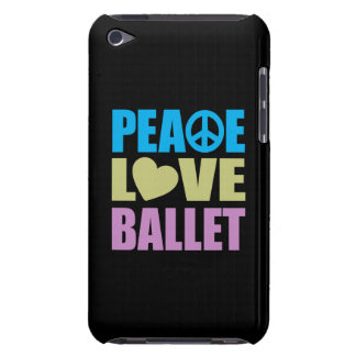Peace Love Ballet Barely There iPod Case