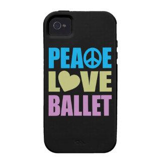 Peace Love Ballet iPhone 4/4S Case