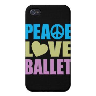 Peace Love Ballet iPhone 4 Case