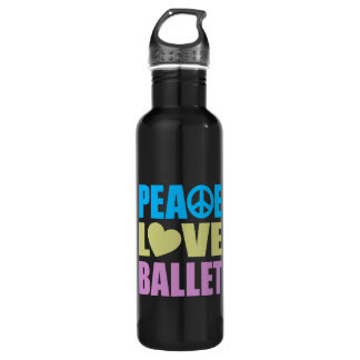 Peace Love Ballet 24oz Water Bottle